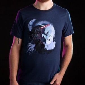 Threadless Retold with Unicorns Small Guys T-shirt